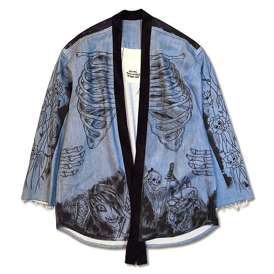 Kiyohime Denim Kimono