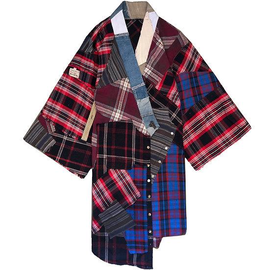 Upcycle women's kimono