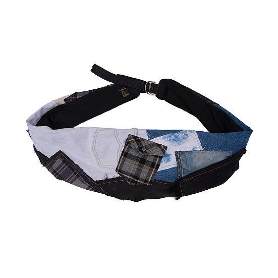 Patchwork waist bag