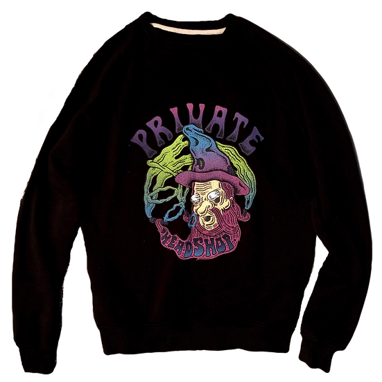 Private Headshop merch sweatshirt