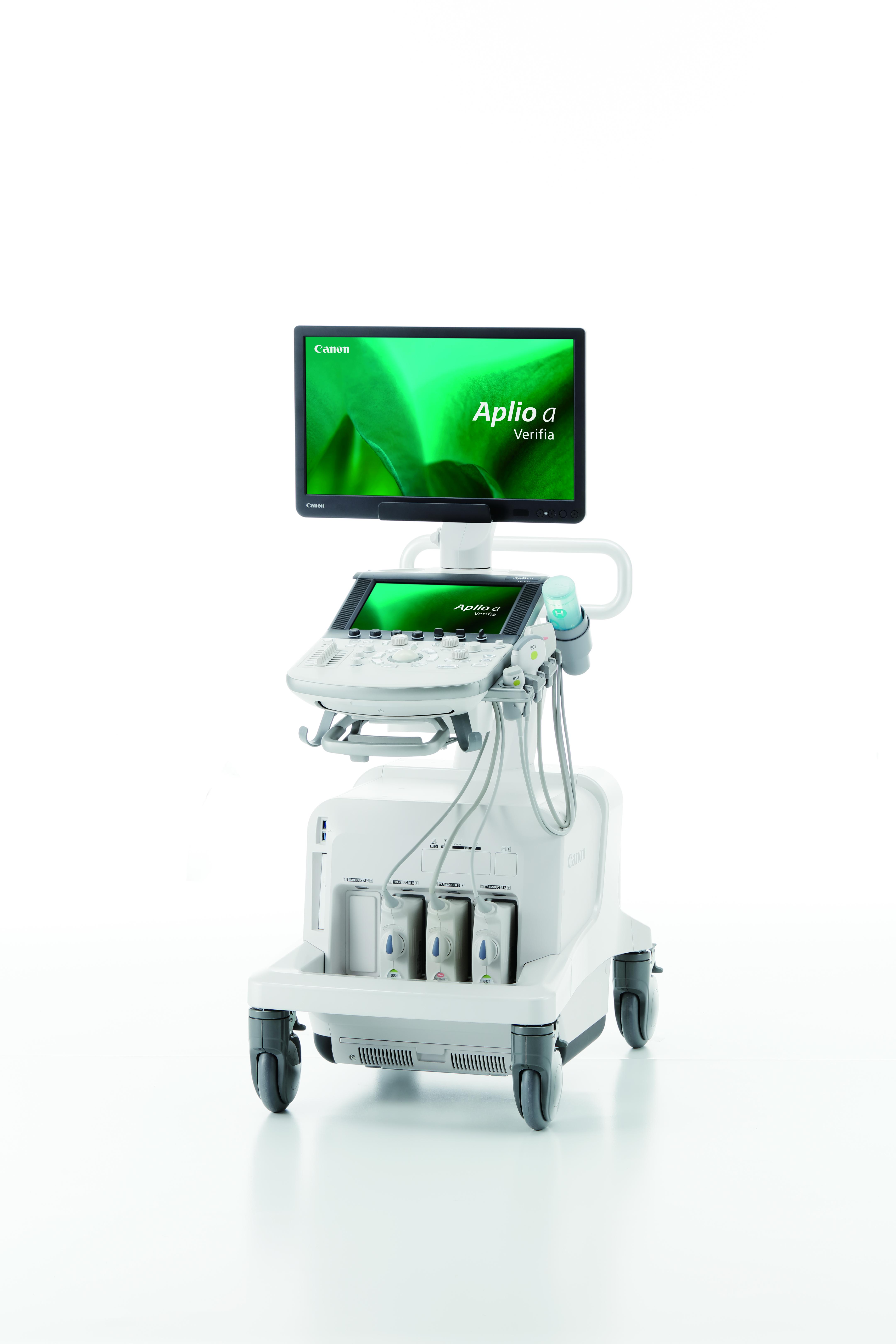 超音波診断装置 Canon Aplio a / Verifia