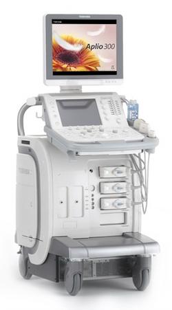 超音波診断装置 Canon Aplio300