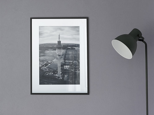 Højen Tårnet Dronefoto