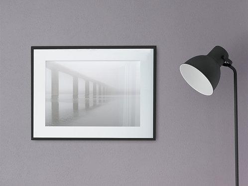 Vejlefjordbroen i tåge