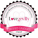 Lovegevity certified graduate cwep Certified Wedding & Event Planning Professional