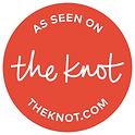 As seen on the knot Theknot.com