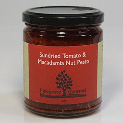 Sundried Tomato and Macadamia Pesto