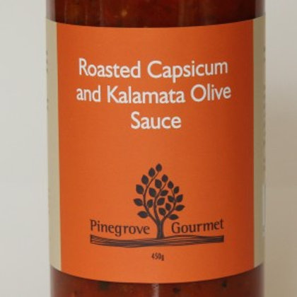 Roasted Capsicum and Kalamata Olive Sauce