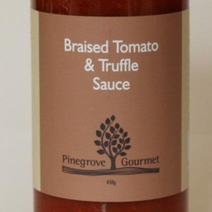Braised Tomato and Truffle Sauce