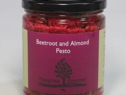 Beetroot and Almond Pesto