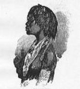 New Orleans Kongo-woman
