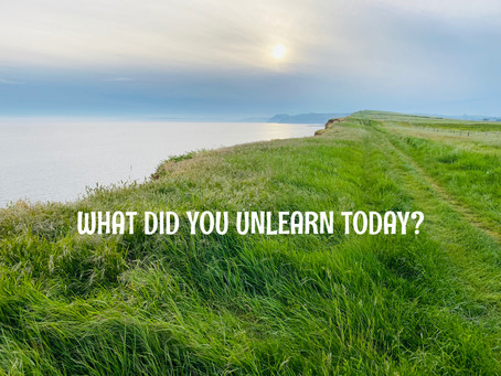 WHAT DID YOU UNLEARN TODAY?