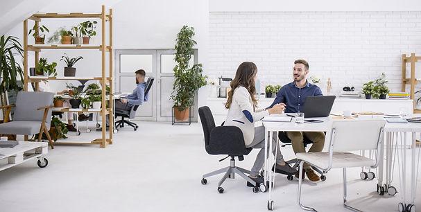 オフィスのワーキングエリアを拡げよう