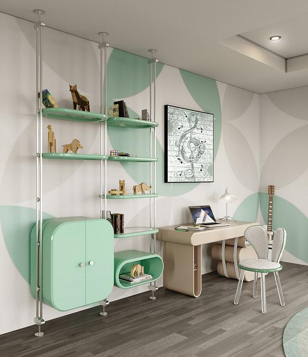 (c) Circu Modern Home Office with Neo mi