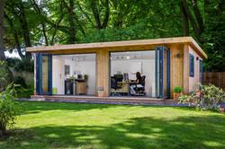 2021.vol.03. 在宅ワークの最適解- コーナーオフィス、フュージョン家具、ガーデンオフィス