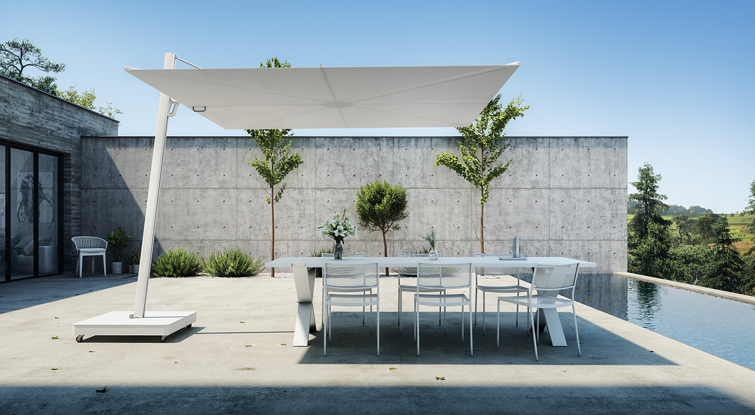 Spectra UX cantilever umbrella - Archite