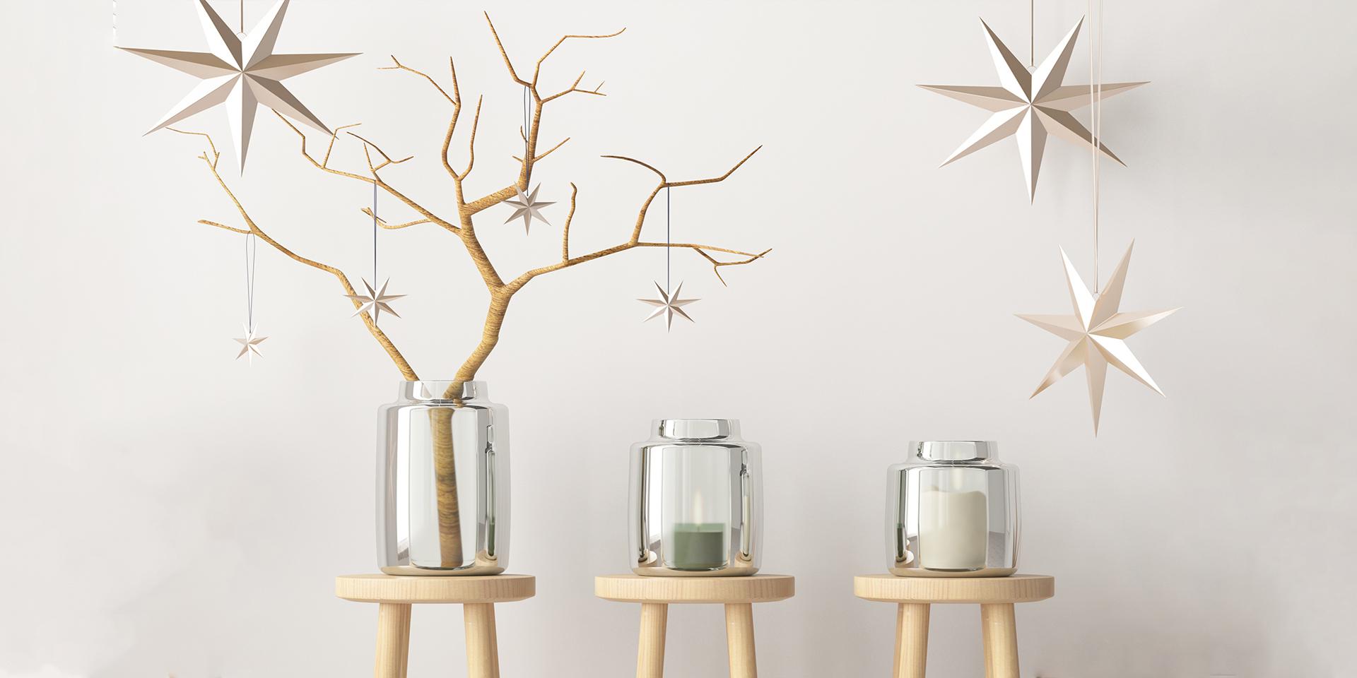 モミの木以外なら何でも:クリスマスツリーに代わるサスティナブルなデコレー