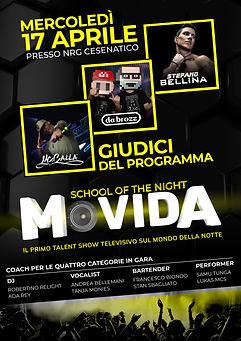 MOVIDA_17 aprile - the opening_locandina