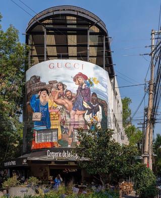 GUCCI ART WALL | RE IMAGINANDO EL ARTE Y LA MODA