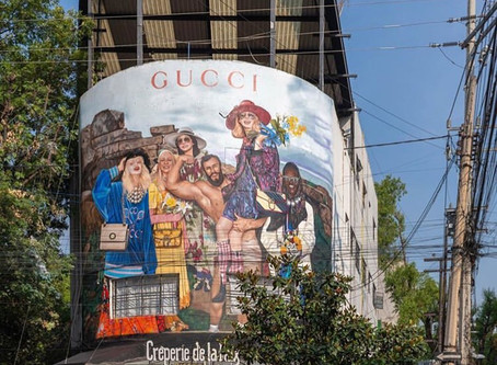GUCCI ART WALL | RE IMAGINANDO EL ARTE Y LA MODA