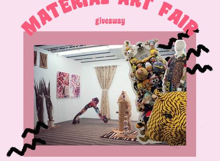 Baltan Giveaway | Te llevamos a Material Art Fair!
