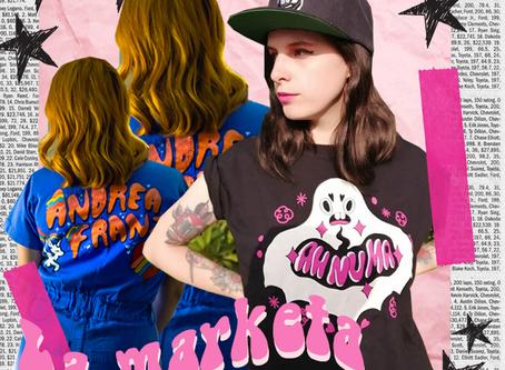 More girls art | Now girls rule presenta LA MARKETA