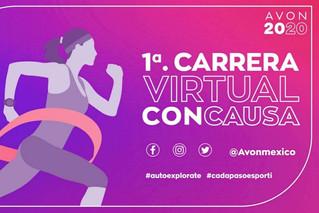 Corre con causa   Carrera virtual x AVON