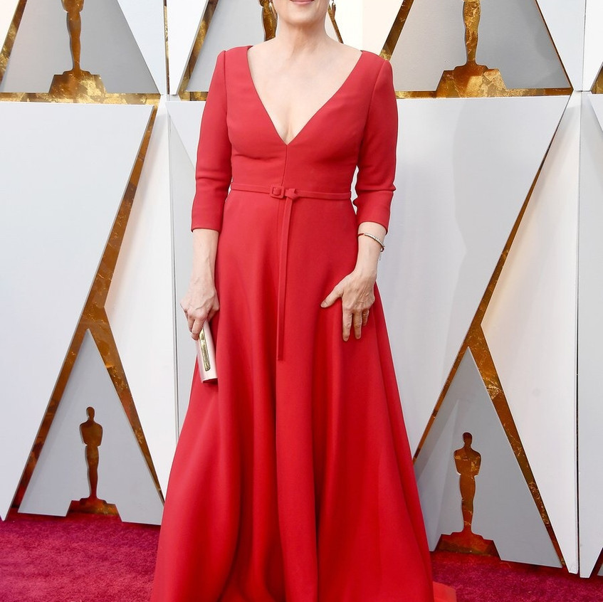 Meryl Streep en Christian Dior Haute Couture