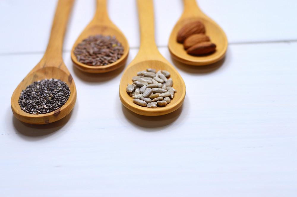 semillas grasas saludables