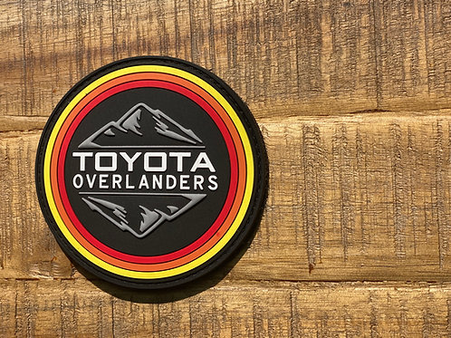 Classic Toyota Overlanders PVC Patch