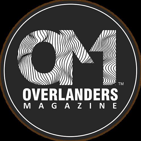 "Overlanders Magazine 3"" Decal"