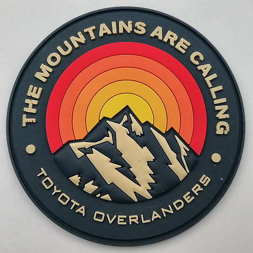 The Mountains Are Calling PVC Patch