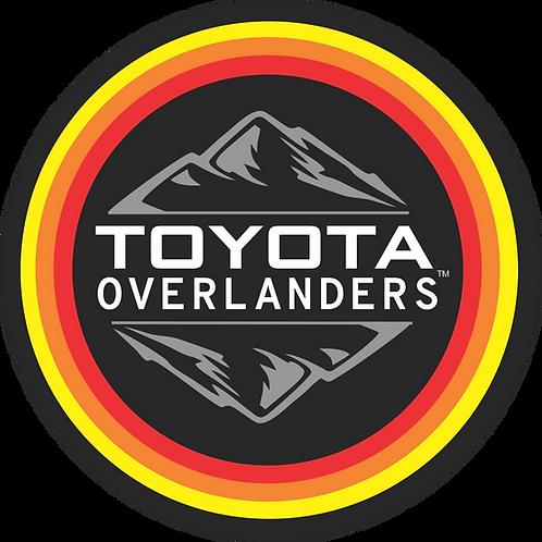 Classic Toyota Overlanders Decal