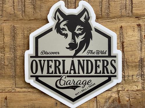"""Overlanders Garage - 3"""" Decal"""
