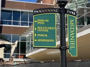 Metal Campus Signs