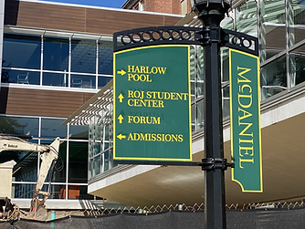 Metal Campus Signs