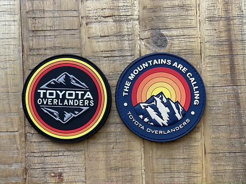 Toyota Overlanders PVC Patch Collection