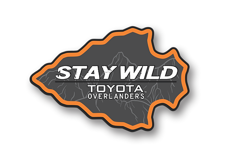 """Stay Wild 4"""" Decal"""