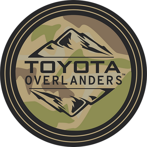 "Toyota Overlanders 3"" MultiCam Decal"
