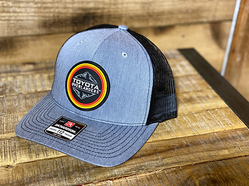 Trucker Snapback - Grey & Black
