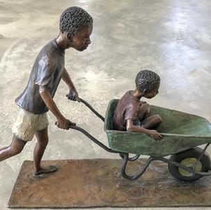 Wheelbarrow boys