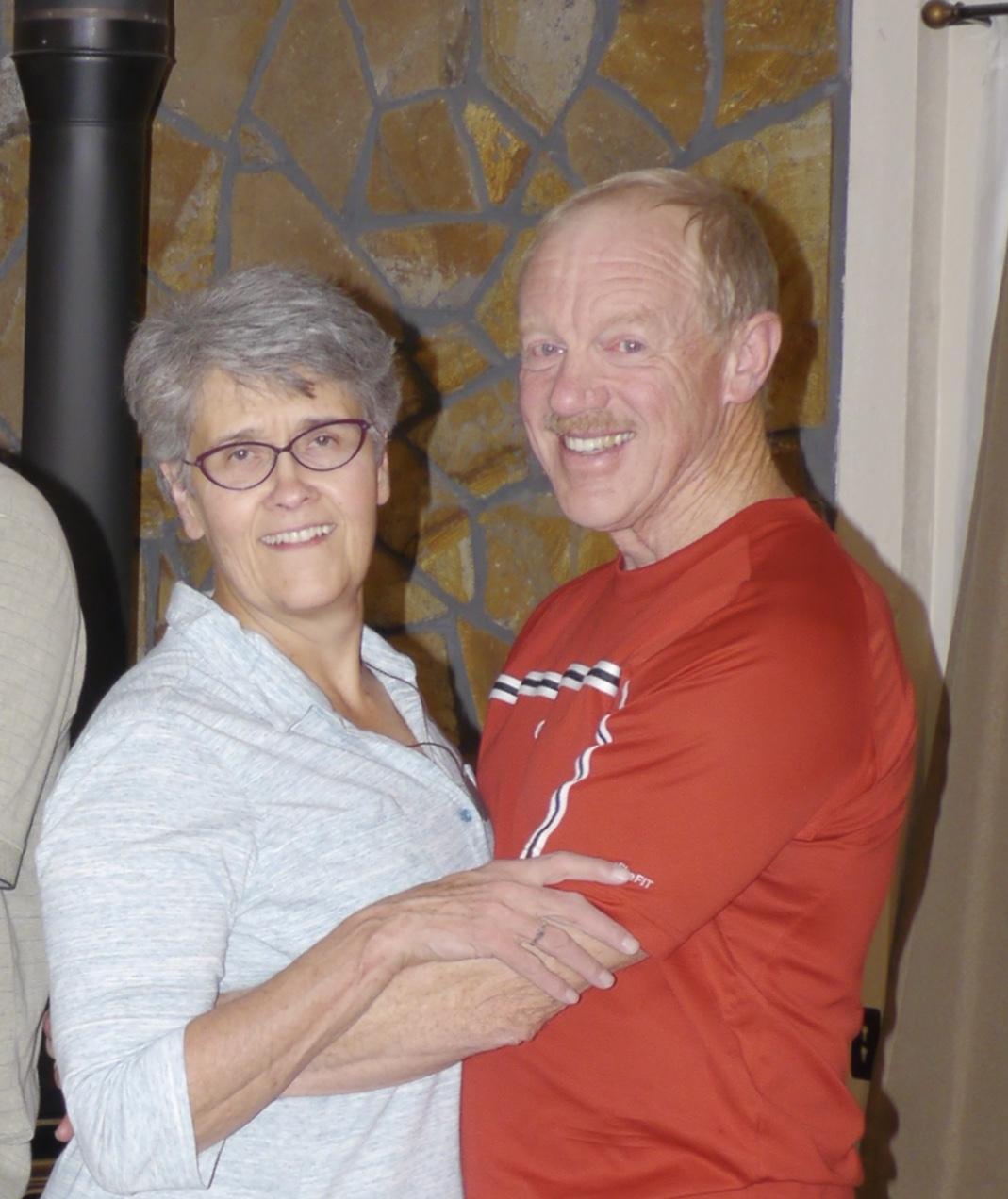 Pat and Carolyn Creedican