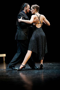 Jero and Donata run occsionl workshops for Derby Tango