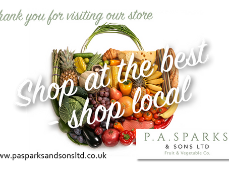 Visit our store over this Easter Weekend! Amazing range of fruit,veg, herbs & spices