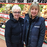 Pauline and Lynn from shop