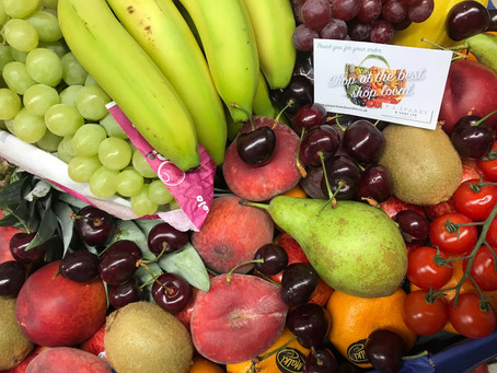 Fresh fruit box - delivered to your door!
