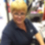 Toi staff member in P.A.Sparks & sons fruit & veg shop