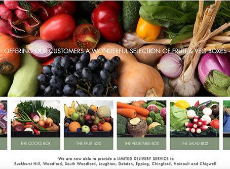 Online fruit & Veg boxes from P.A.Sparks & Sons Ltd