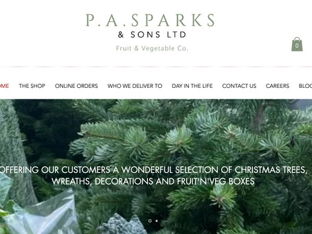 Visit www.pasparksandsonsltd.co.uk for all your Christmas Fruit'n'veg!