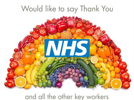 A message from everyone at P.A.Sparks greengrocers